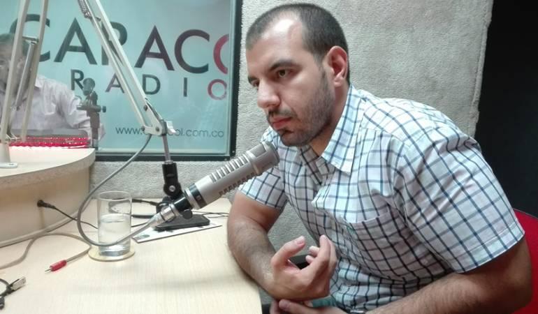 Concejal por el partido liberal Bachir Mirep Corona,