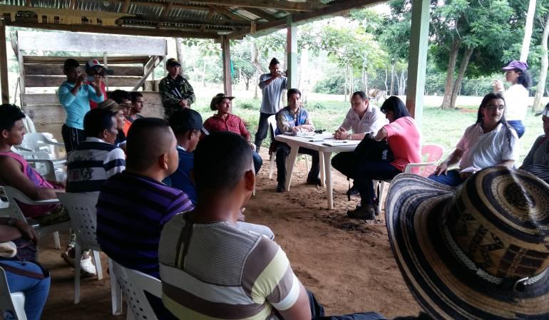 amenazas de paramilitares en Tierra Alta, Córdoba: Campesinos de Tierra Alta, Córdoba, denunciaron amenazas de paramilitares