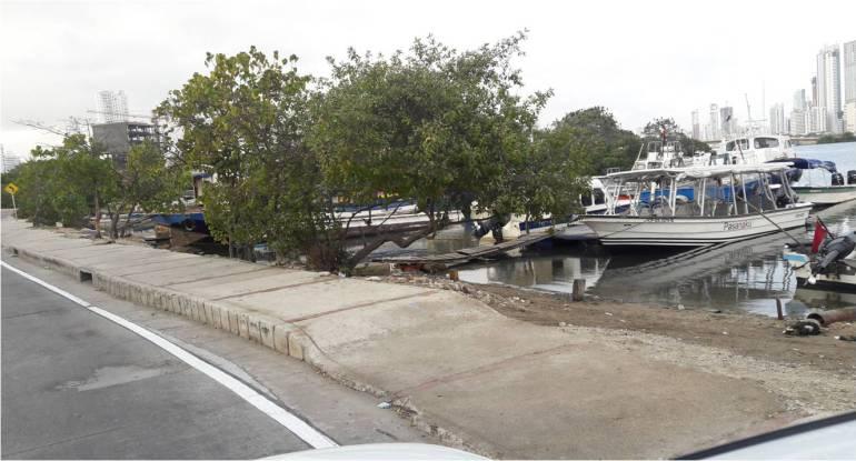Denuncian ocupación ilegal de una laguna en Cartagena