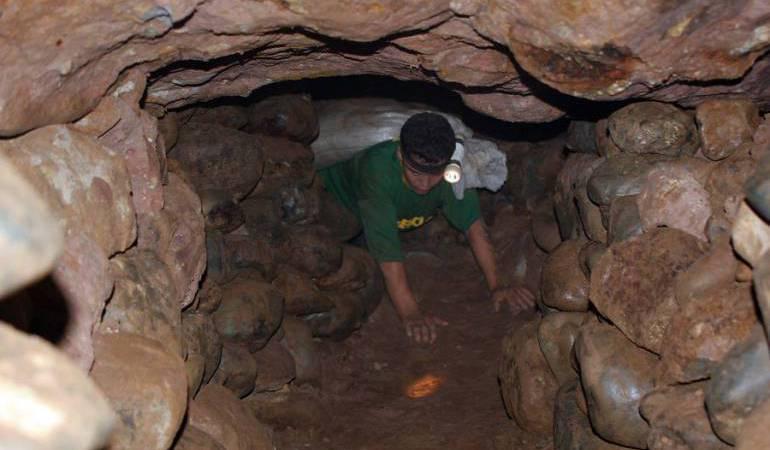 mineros; Marmato; oro; Manizales; Caldas: Mineros de Marmato denuncian que nadie les está comprando el oro