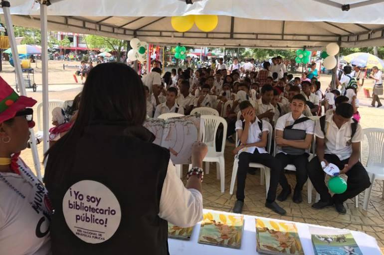 Magangué, Bolívar, celebró día mundial de la poesía: Magangué, Bolívar, celebró día mundial de la poesía