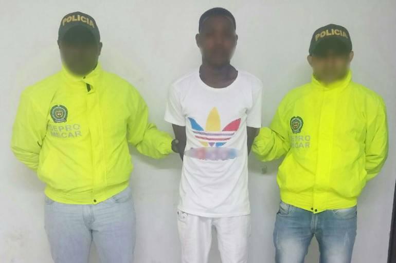 Policía de Cartagena capturó a un sujeto por el delito de hurto agravado en el barrio Canapote: Policía de Cartagena capturó a un sujeto por el delito de hurto agravado en el barrio Canapote