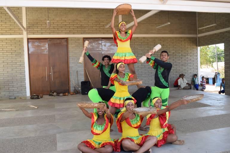 En el Portal de la Cultura de La Apartada ya se baila, se danza y se goza