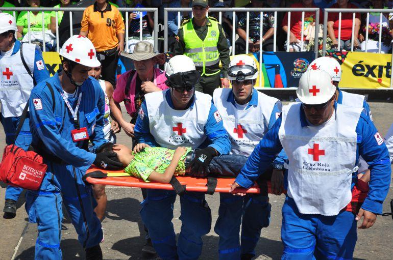 La Cruz Roja seccional Atlántico celebra sus 70 años.