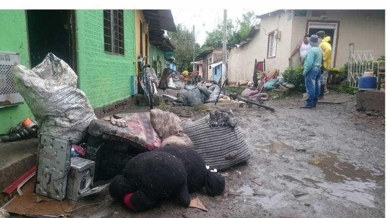 Valle del Cauca bajo agua en marzo de 2017: El 90% del Valle con lluvias