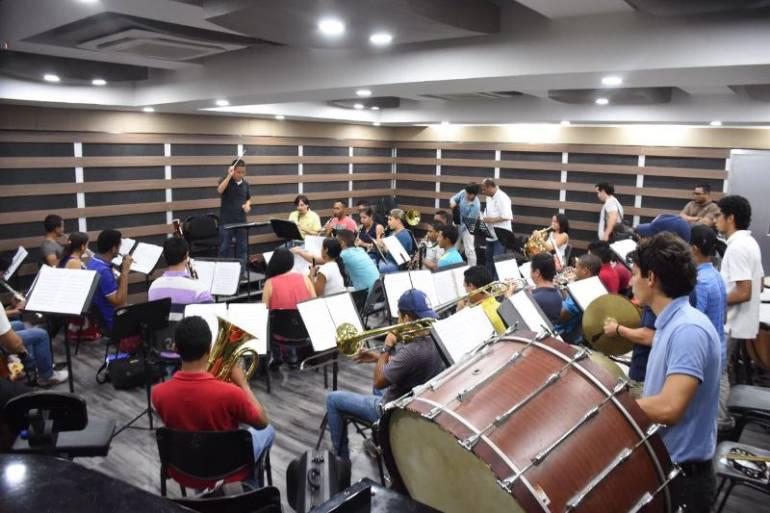 Banda Sinfónica Giovanni De Sanctis inicia jornada de conciertos: Banda Sinfónica Giovanni De Sanctis inicia jornada de conciertos