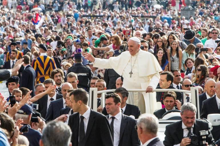 Un millón de personas vendría a Cartagena para visita del papa: Un millón de personas vendría a Cartagena para visita del papa
