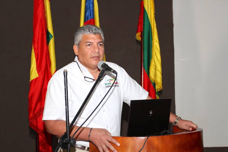 Oscar Marín Villalba, nuevo Secretario de Educación de Bolívar