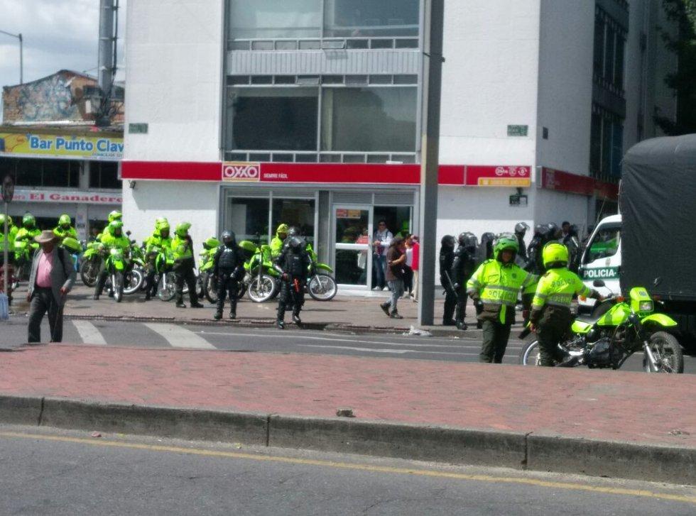 El viernes pasado los estudiantes ya habían protestado por la misma razón que hoy nuevamente los impulsa a manifestar.
