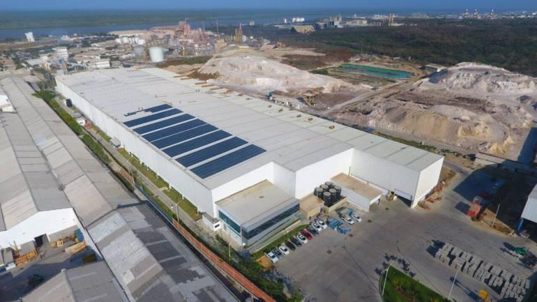 Sede de Tecnoglass en Barranquilla.