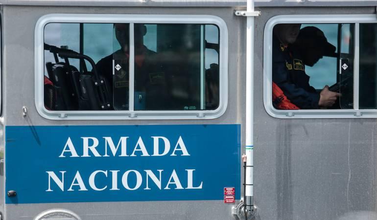 [VIDEO] Armada Nacional rescata a una ballena encallada cerca a Cartagena