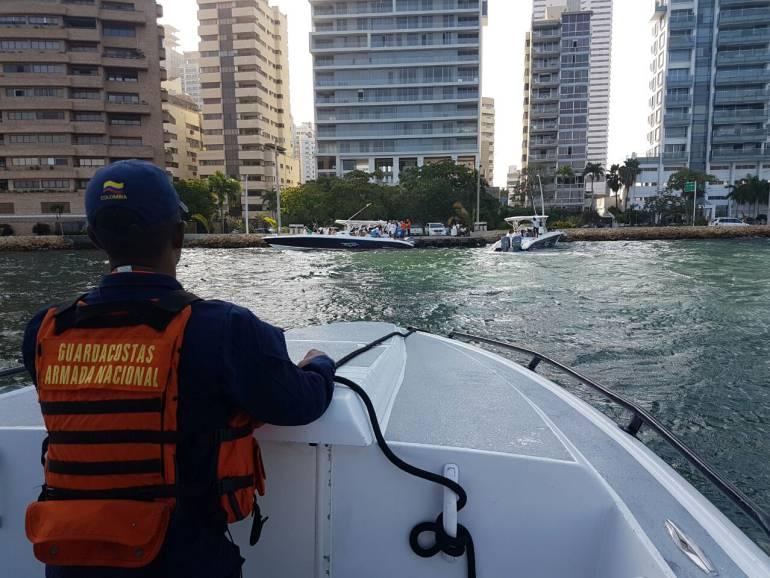 Inmovilizan tres lanchas por transportar ilegalmente pasajeros a Islas del Rosario: Inmovilizan tres lanchas por transportar ilegalmente pasajeros a Islas del Rosario