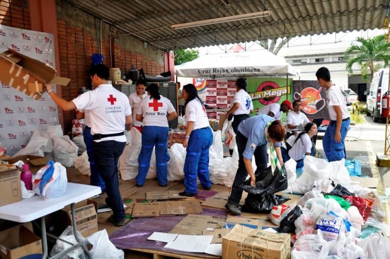 Cruz Roja Valle y las ayudas a Mocoa: Cruz Roja Valle ha recolectado 88 toneladas de ayudas para Mocoa