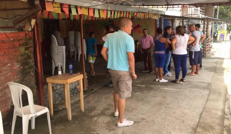 Atentado con granada: 37 heridos en atentado con granada en San Pedro Valle