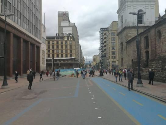 IDU inició la segunda fase de peatonalización de la Carrera Séptima