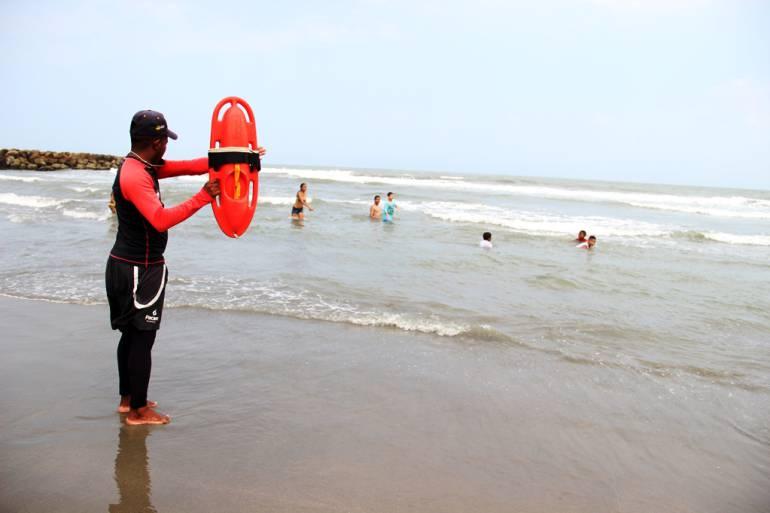 Cero ahogados y 33 rescates en Semana Santa en playas de Cartagena: Cero ahogados y 33 rescates en Semana Santa en playas de Cartagena