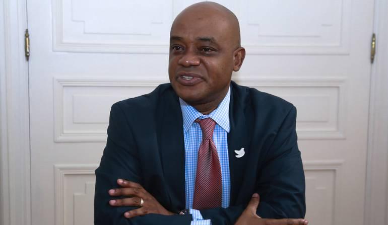 Luis Gilberto Murillo, ministro de Ambiente