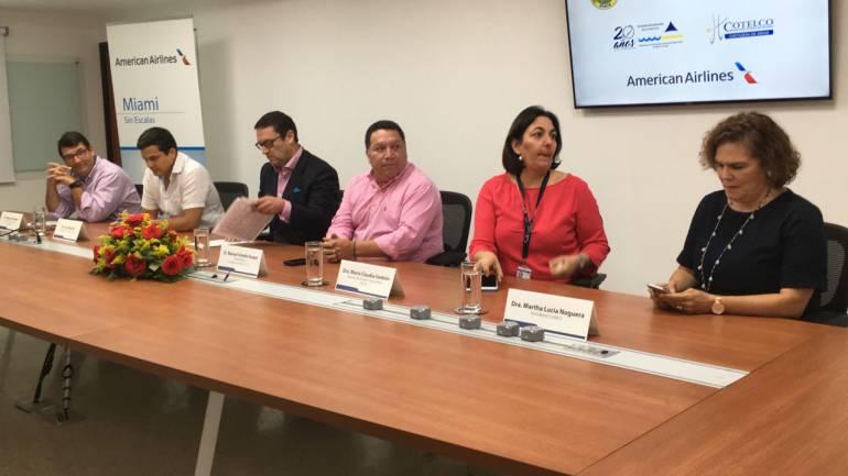 Miami - Cartagena, la nueva ruta diaria de American Airlines
