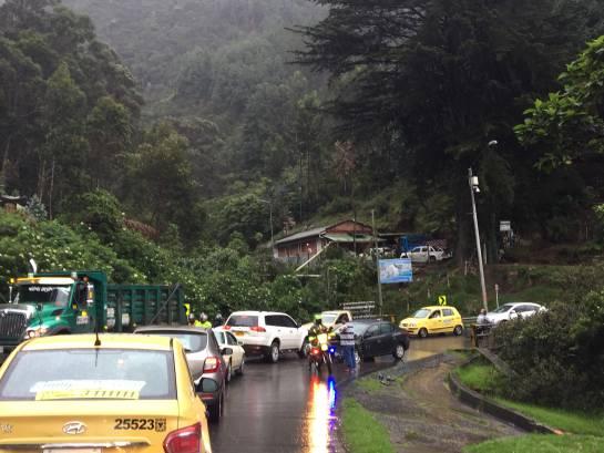 Trancones en Bogotá: Problemas de movilidad por varios choques simples en Bogotá