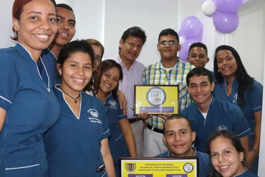 Unicartagena inauguró el primer consultorio farmacéutico del país: Unicartagena inauguró el primer consultorio farmacéutico del país