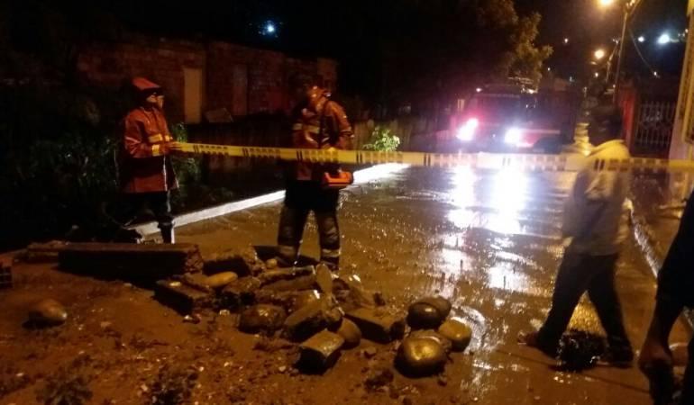 Lluvias en Cúcuta generan alarmas