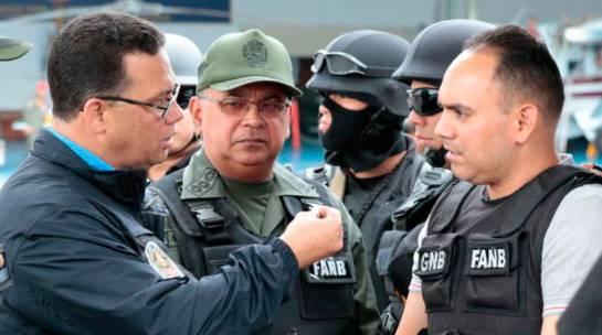 Julio Cesar Vélez González cuando fue capturado en Venezuela