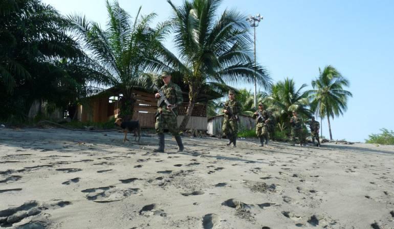 Clan del Golfo Chocó: El Clan del Golfo, 300 hombres armados en Chocó