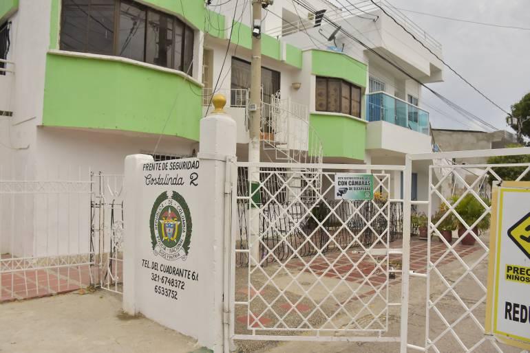 Alcaldía de Cartagena entrega punto seguro en urbanización Costa Linda