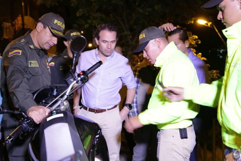 Al nororiente de la ciudad encontraron moto empleada en el asalto.