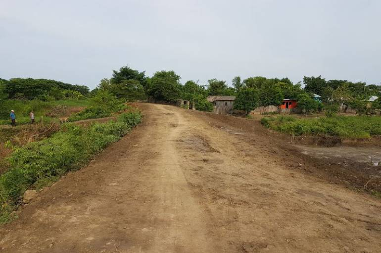Entregan jarillón a comunidad de San Sebastián de Buenavista en Magangué - Caracol Radio