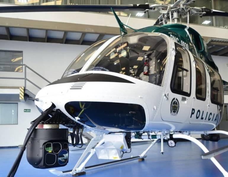 Policía de Medellín incorpora helicóptero a seguridad ciudadana