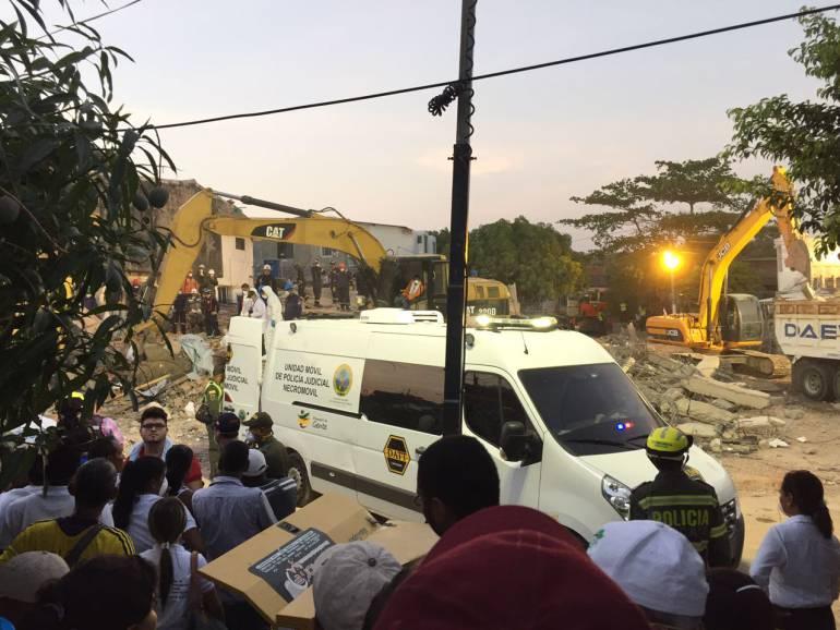 Personería de Cartagena abrió investigación por desplome de edificio: Personería de Cartagena abrió investigación por desplome de edificio