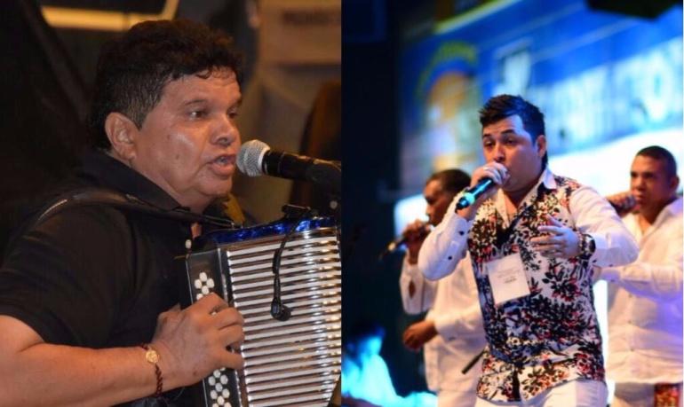 Álvaro López (cuarto rey) e Ivo Díaz (rey canción inédita)