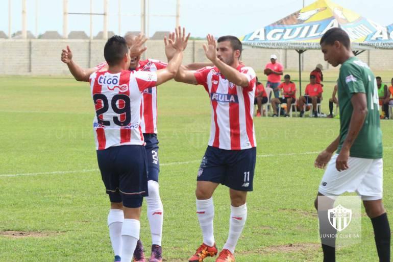 Junior enfrenta al Barranquilla FC por Copa Águila: Junior se mide a su hermano menor en Copa Águila