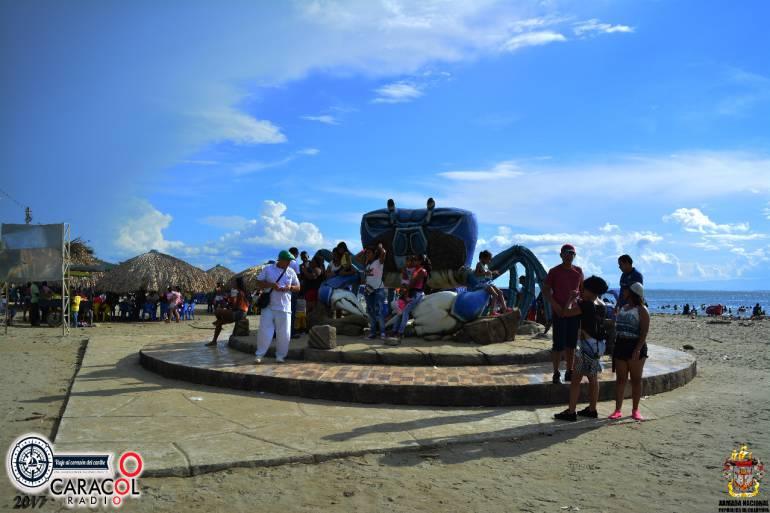 Cangrejo azul, sitio turístico de Turbo, Antioquia.