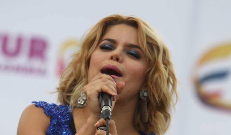 Cantante Adriana Lucía saluda a su municipio en su cumpleaños: Adriana Lucía felicita a Lorica en su cumpleaños