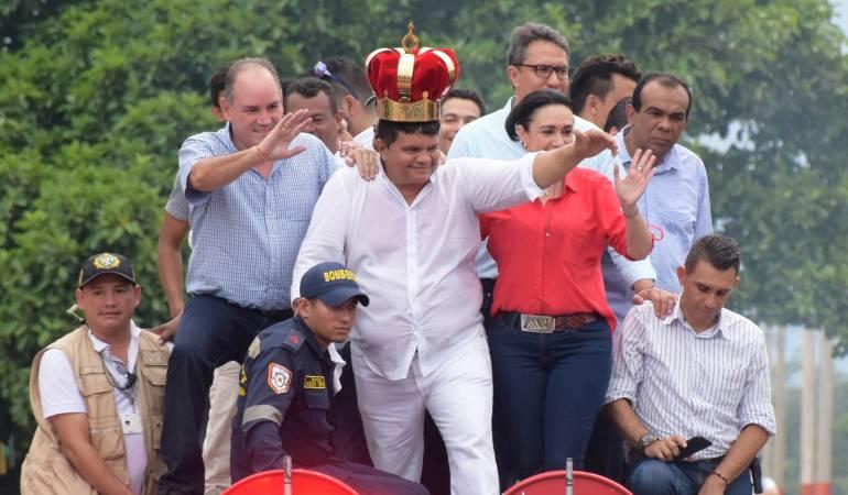 Recibimiento al Rey de Reyes Álvaro López