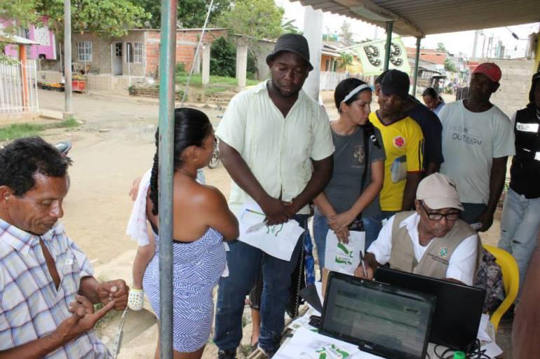 Cerca de 18.700 colados en Bolívar han sido reubicados en el Sisbén: Cerca de 18.700 colados en Bolívar han sido reubicados en el Sisbén
