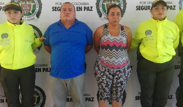 Presuntos responsables de la muerta de la niña Sarita