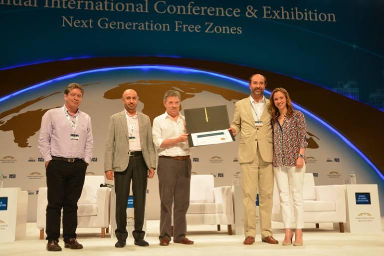 Se instaló oficialmente el Tercer Congreso Mundial de Zonas Francas en Cartagena: Se instaló oficialmente el Tercer Congreso Mundial de Zonas Francas en Cartagena
