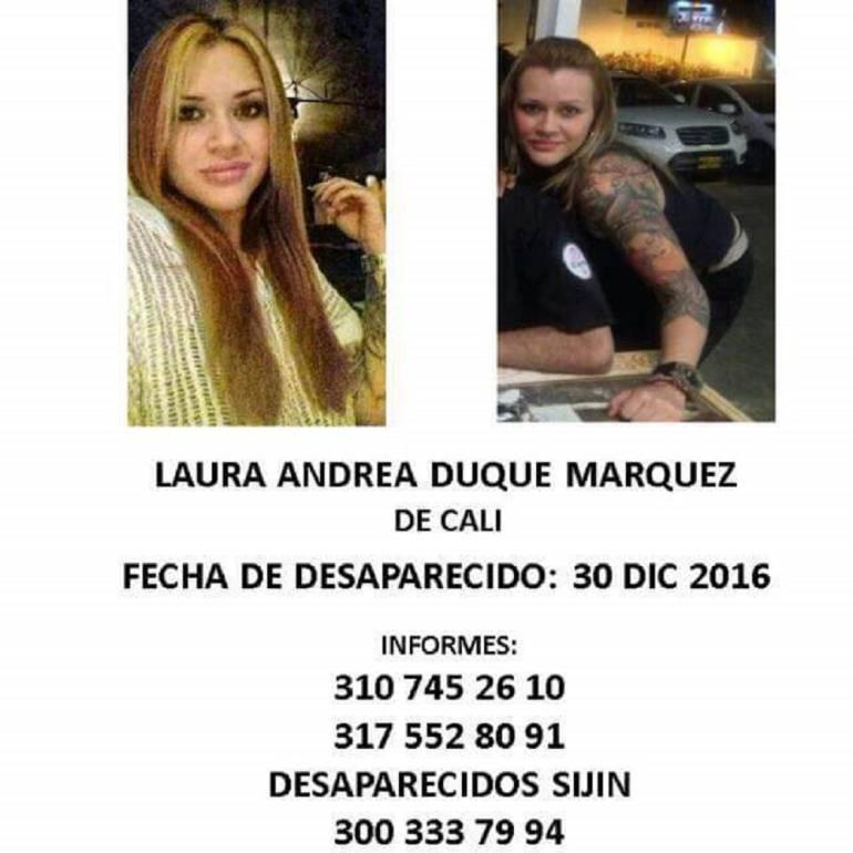 En busca de los desaparecidos en el Valle del Cauca: Cinco meses sin saber del paradero de Laura Andrea Duque Márquez