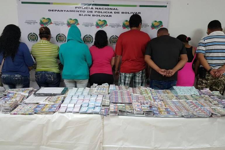 Capturan a 13 distribuidores de chance ilegal en Magangué, Bolívar: Capturan a 13 distribuidores de chance ilegal en Magangué, Bolívar
