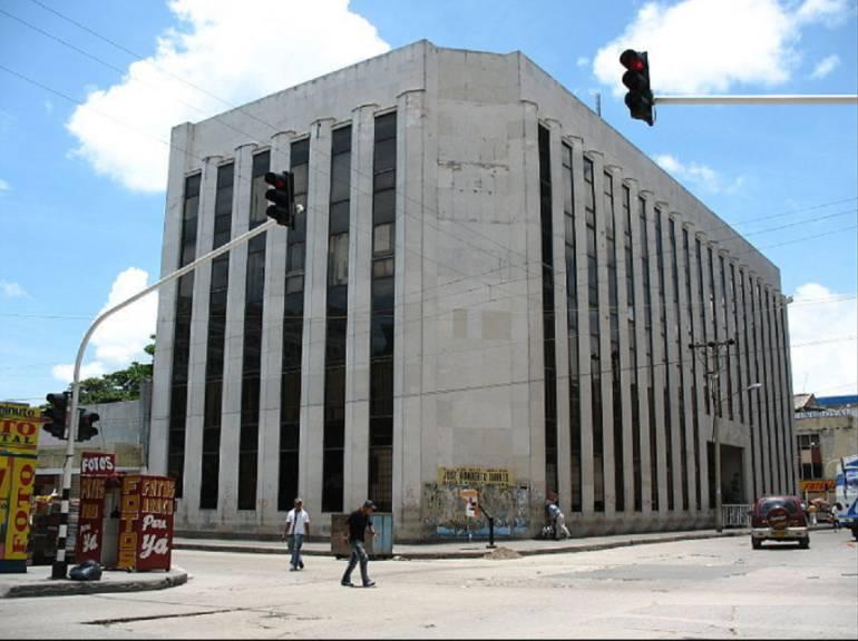 Sede de la Fiscalía en Barranquilla. Allí reposa la denuncia interpuesta por Carmen Acuña contra su pareja.