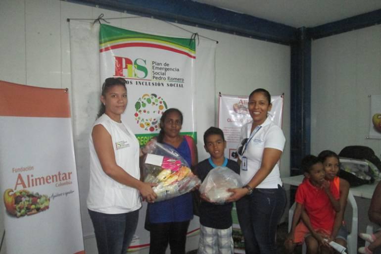 Proyecto Alianzas Integrales entregó incentivos a familias de Pasacaballos en Cartagena: Proyecto Alianzas Integrales entregó incentivos a familias de Pasacaballos en Cartagena