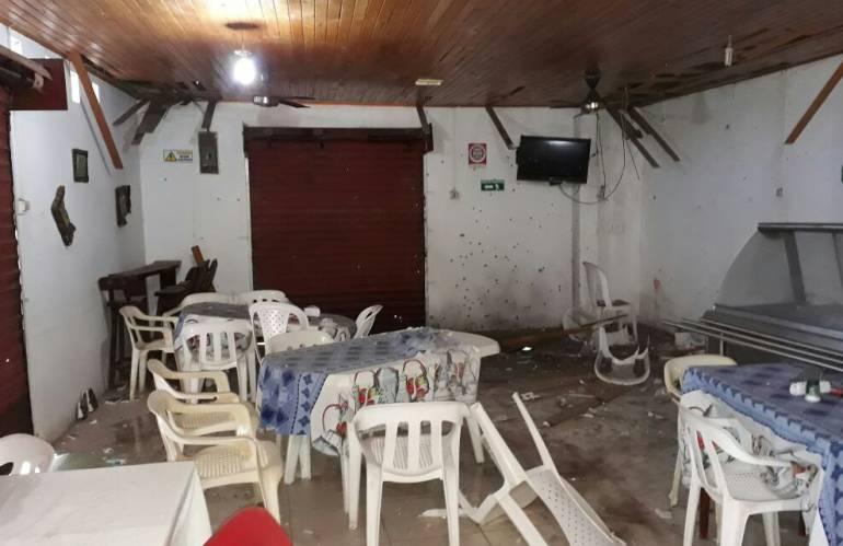 CLAN DEL GOLFO ATAQUE EXPLOSION ANTIOQUIA CACERES POLICIA: Clan del Golfo ataca con explosivo a la policía en Cáceres, Antioquia