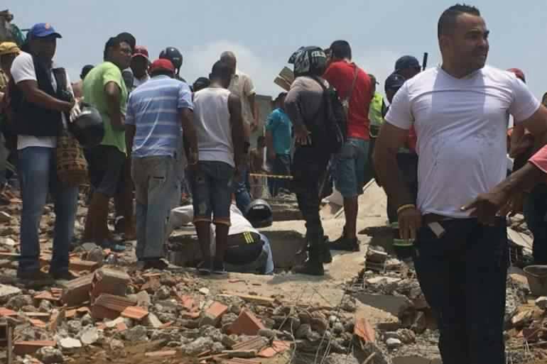 Un juez negó órdenes de captura contra constructores de edificio desplomado en Cartagena