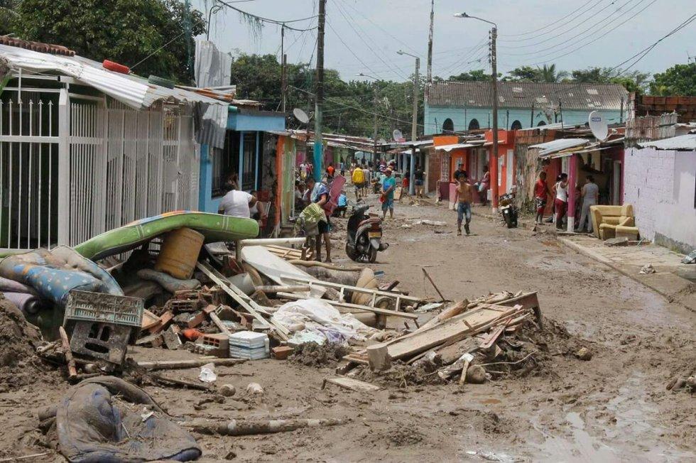 Otras zonas afectadas que se encuentran en proceso de verificación son los barrios Venecia y  Siete de Agosto, donde por creciente del caño Maizaro hubo evacuaciones preventivas.