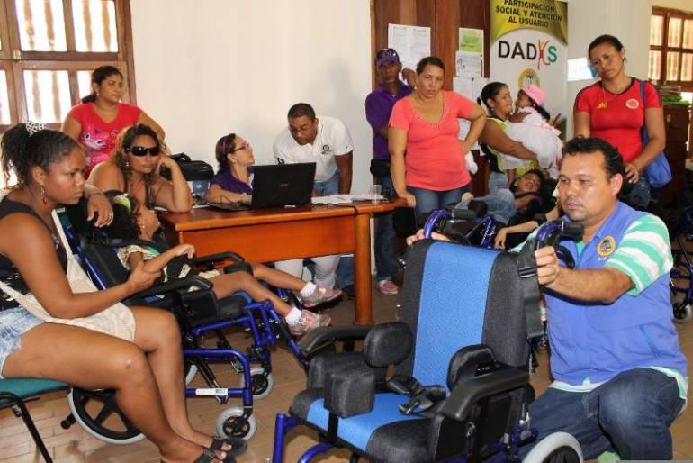 Dadis continúa jornada de registro con personas con discapacidad en Cartagena: Dadis continúa jornada de registro con personas con discapacidad en Cartagena