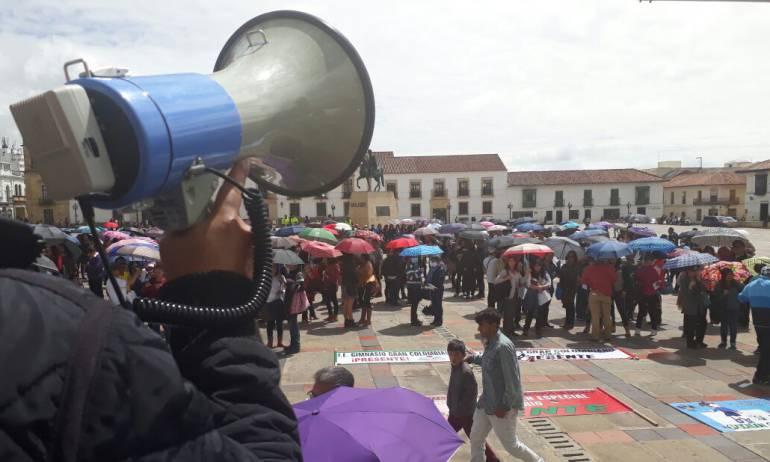 Paro de docentes Boyacá: Docentes de Boyacá se unen a paro indefinido de Maestros