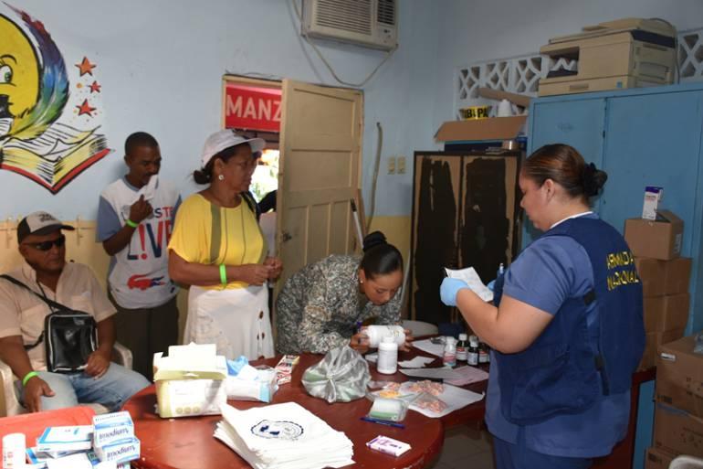 Armada Nacional realizó jornada de atención médica en varios sectores de Cartagena: Armada Nacional realizó jornada de atención médica en varios sectores de Cartagena